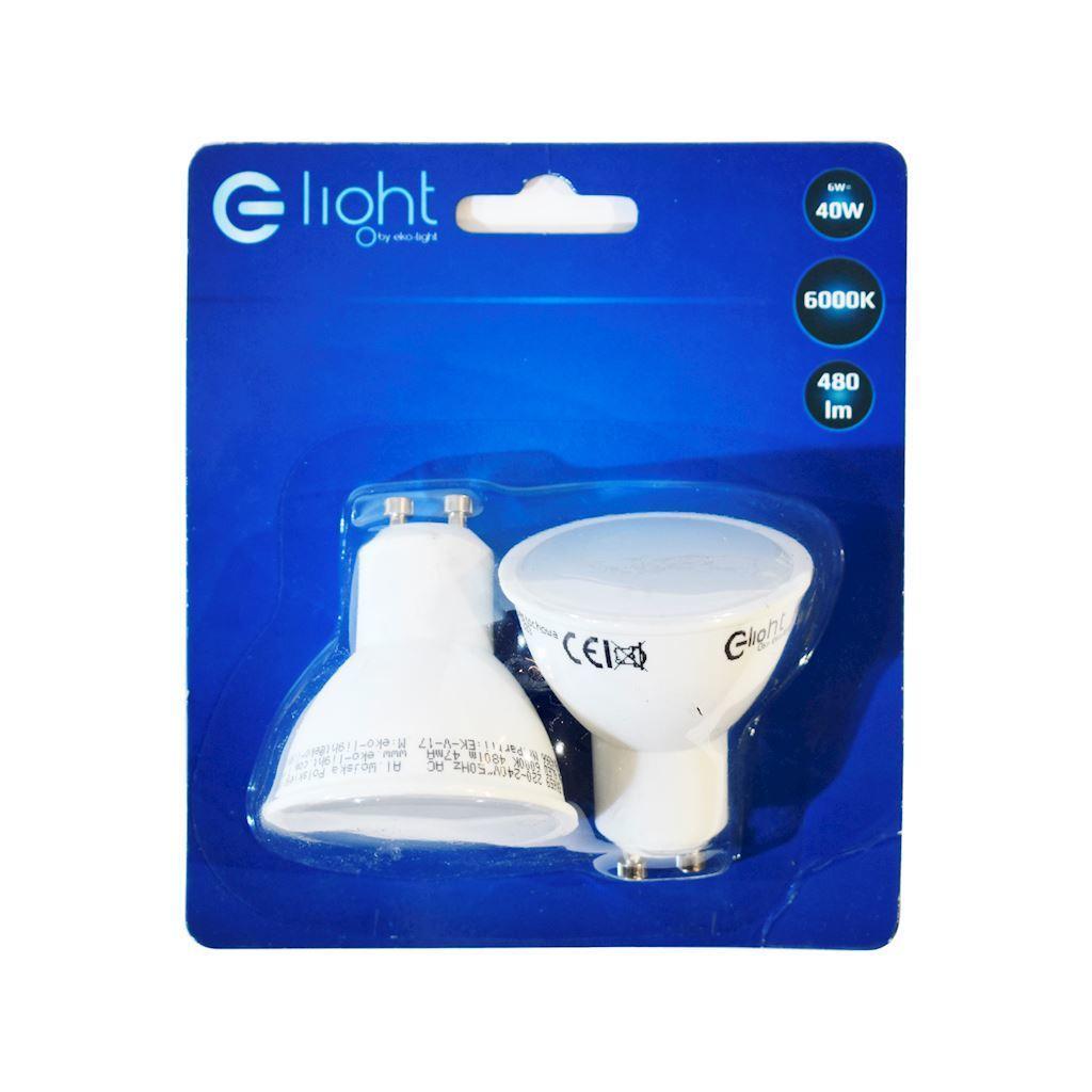 Led Bulb 6 W Gu10 Dual Pack Color: Cold
