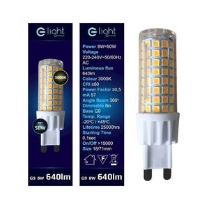 7W G9 Led Bulb. Color: Warm small 1
