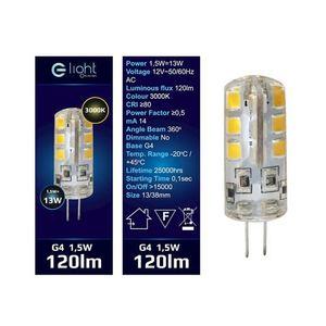 Led bulb 1.5 W G4 12 V. Color: Warm small 1