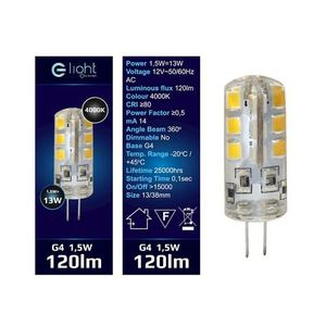 Led bulb 1.5 W G4 12 V. Color: Neutral small 1