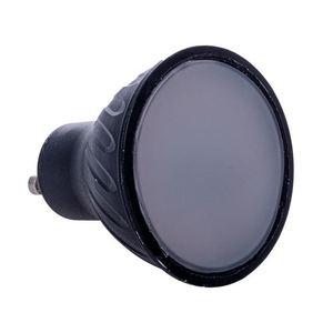 Black LED Bulb 7W Gu10. Color: Warm small 0