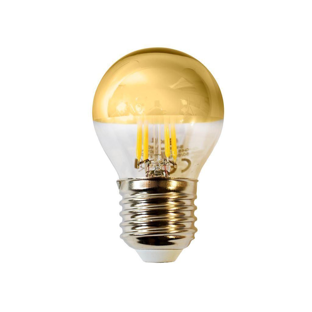 4 W LED Filament Bulb G45 E27 Gold