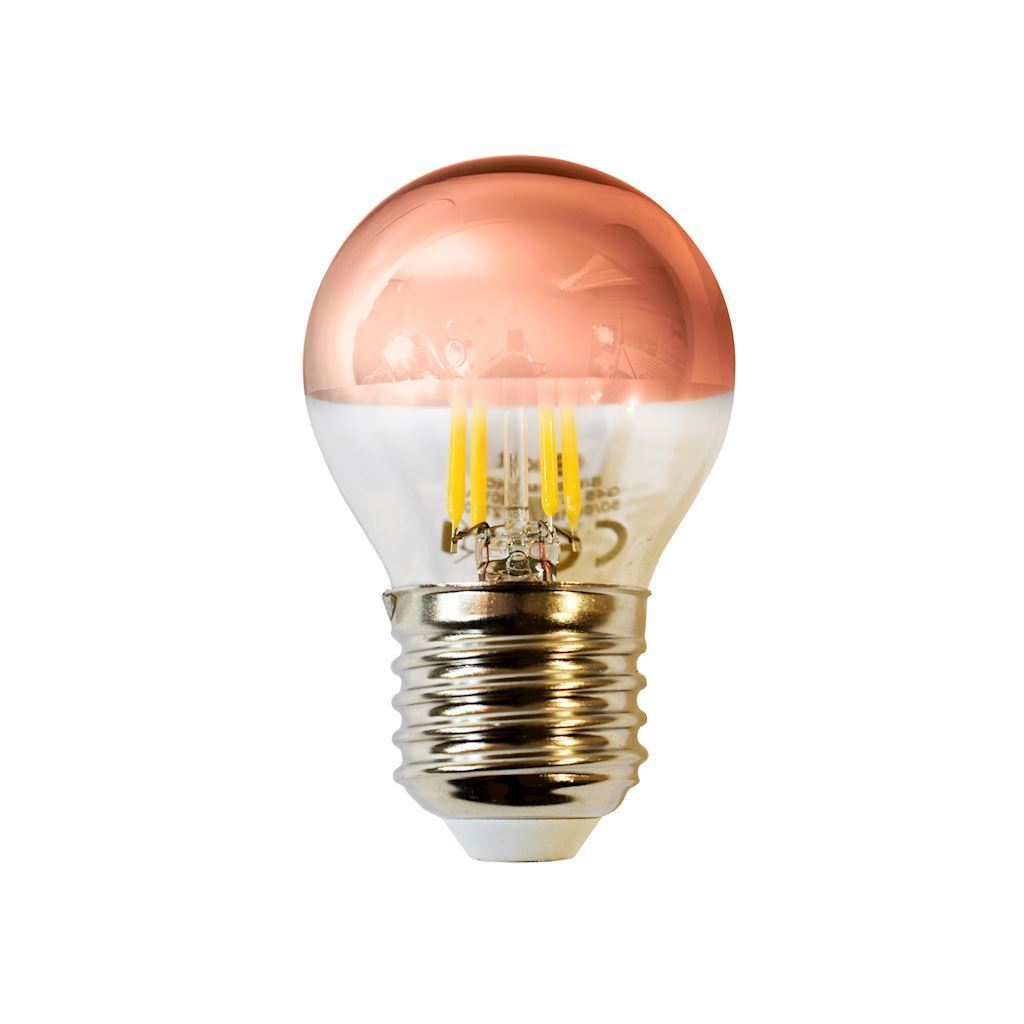 4 W LED Filament Bulb G45 E27 Golden Rose