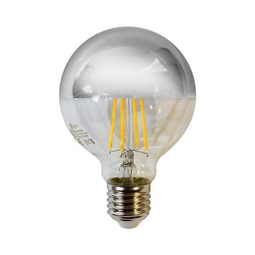 Filament bulb Led 5.5 W G80 E27 Silver