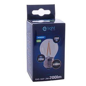 2 W E27 G45 2700K LED Filament Bulb small 2