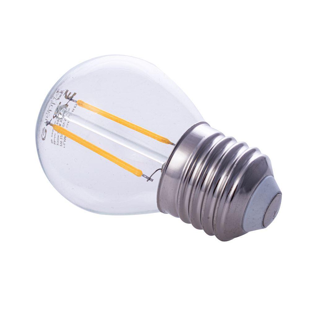 2 W E27 G45 2700K LED Filament Bulb