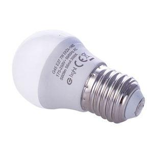 7 W E27 G45 Led Bulb. Color: Warm small 0