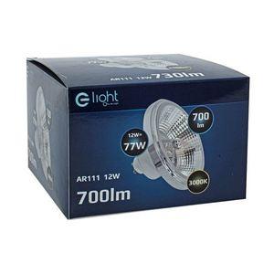 Bulb Ar111 12 W Gu10 3000 K / White With reflector small 4