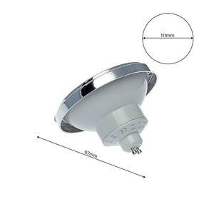 Bulb Ar111 12 W Gu10 3000 K / White With reflector small 5