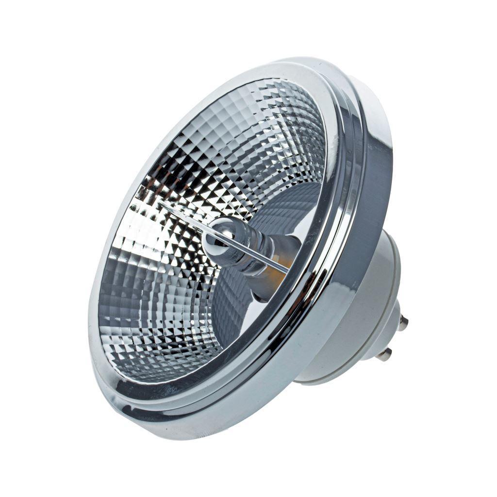 Bulb Ar111 12 W Gu10 3000 K / White With reflector