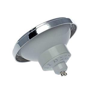 Ar111 12W Gu10 4000K / White Light Bulb With Reflector small 1