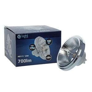 Ar111 12W Gu10 4000K / White Light Bulb With Reflector small 2