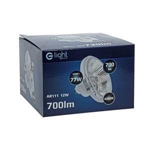Ar111 12W Gu10 4000K / White Light Bulb With Reflector small 3