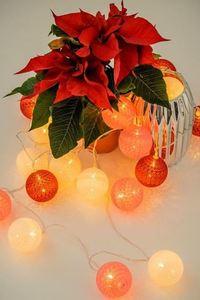 Multicolor LED Cotton Balls 20 Pcs. small 1