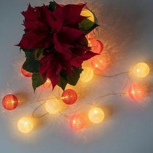 Multicolor LED Cotton Balls 20 Pcs. small 2