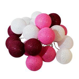 Multicolor LED Cotton Balls 20 Pcs. small 0