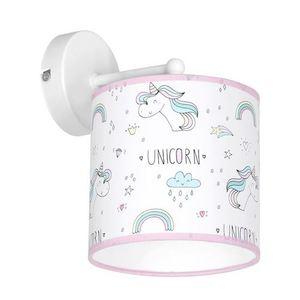Multicolor Wall Lamp Unicorn 1x E27 small 0
