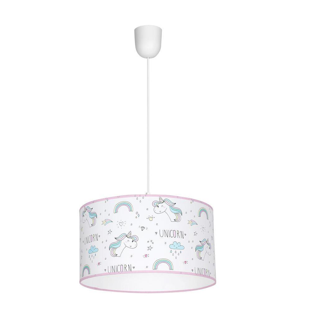 Multicolor Hanging Lamp Unicorn 1x E27