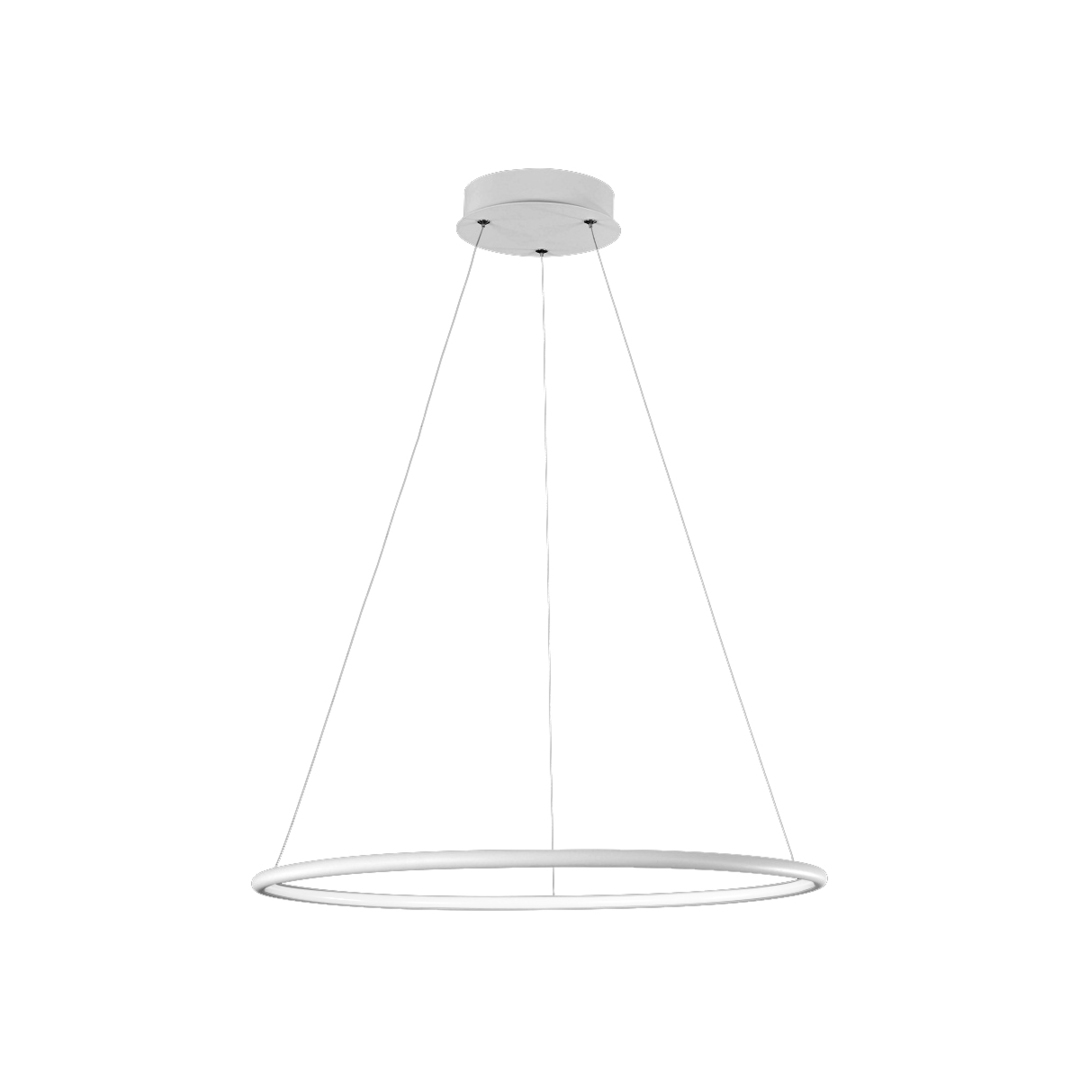 Orion White 22W Led Pendant Lamp. Color: Neutral