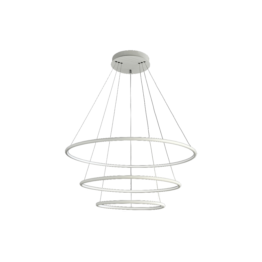 Orion White 99W LED Pendant Lamp. Color: Neutral