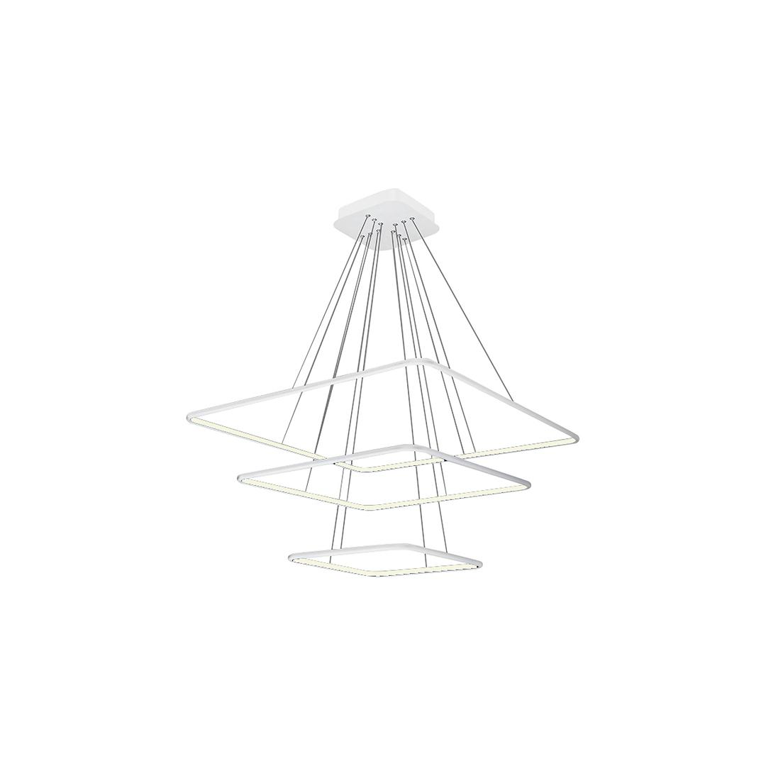 Nix White 117 W Led Pendant Lamp. Color: Neutral