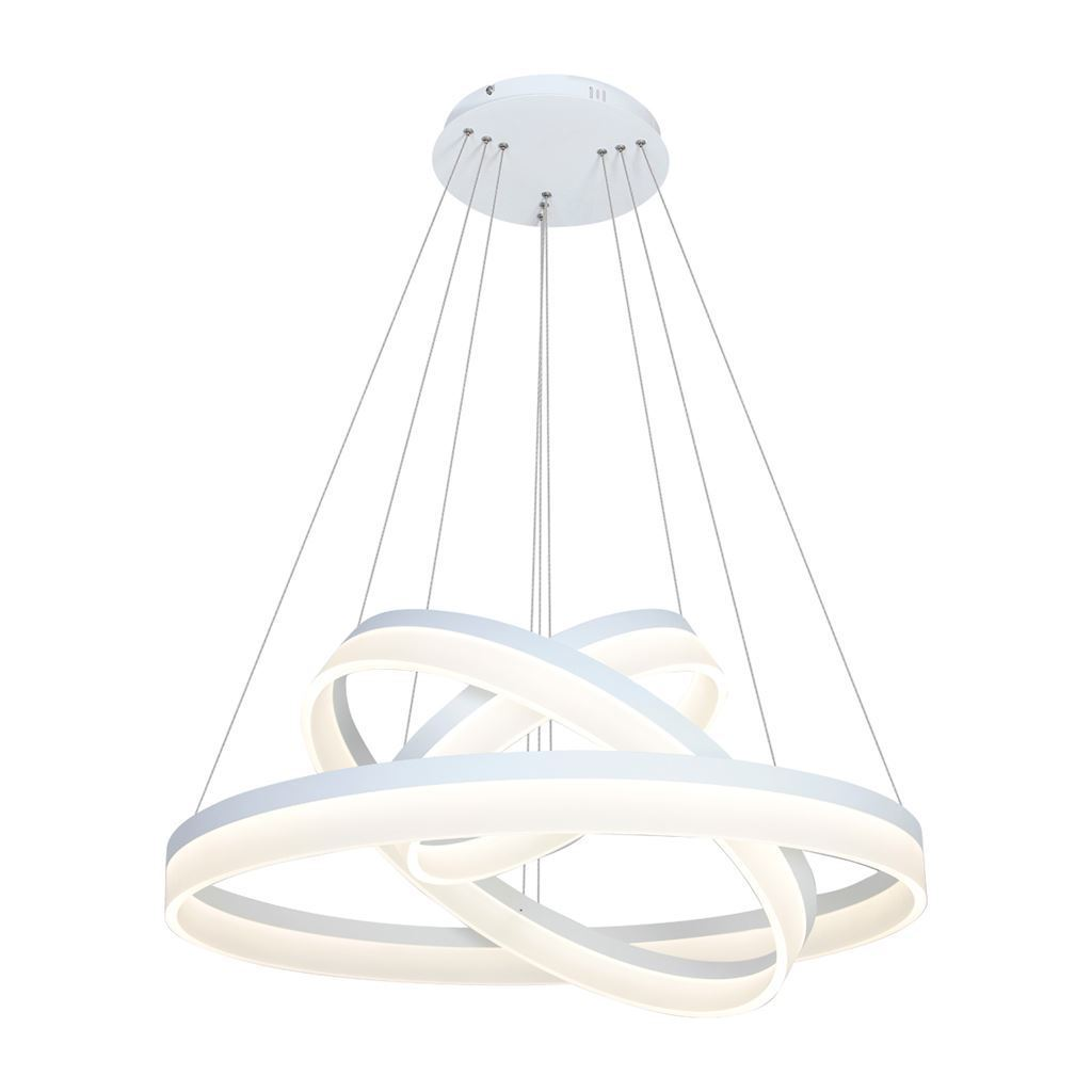 White 114 W Led Ring Pendant Lamp. Color: Warm