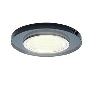 Black Ceiling Ring Glass Round. Black colour small 0