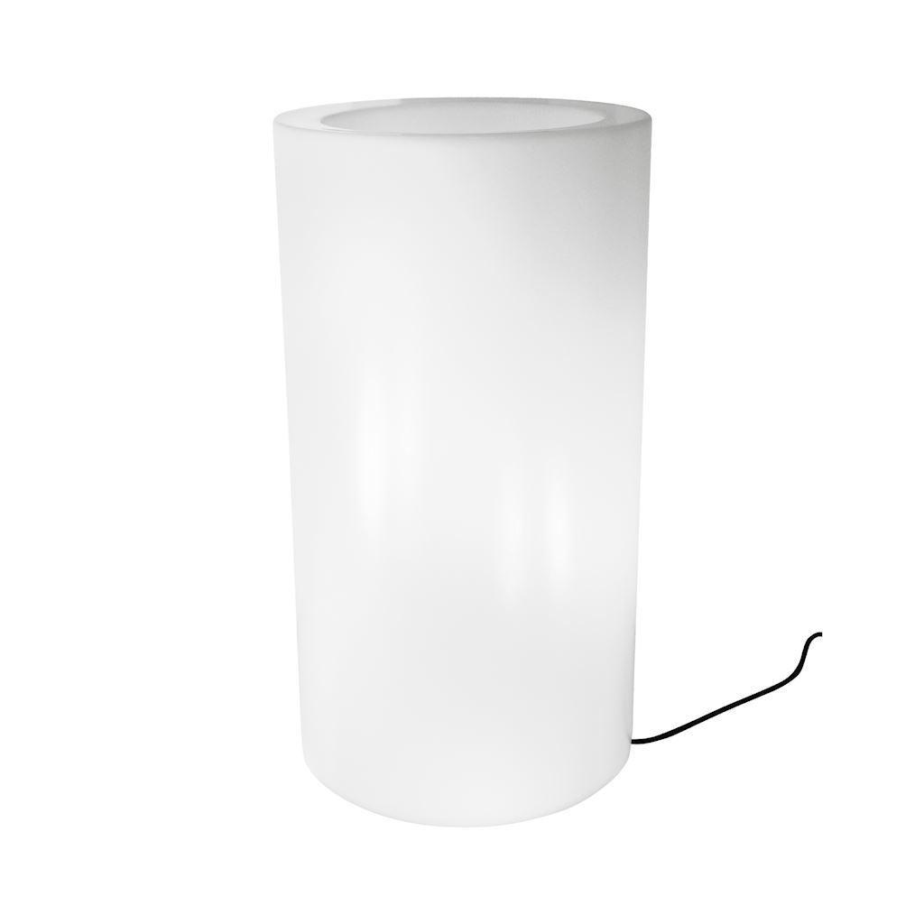White Flower Pot Alicante 90cm (T) IP44