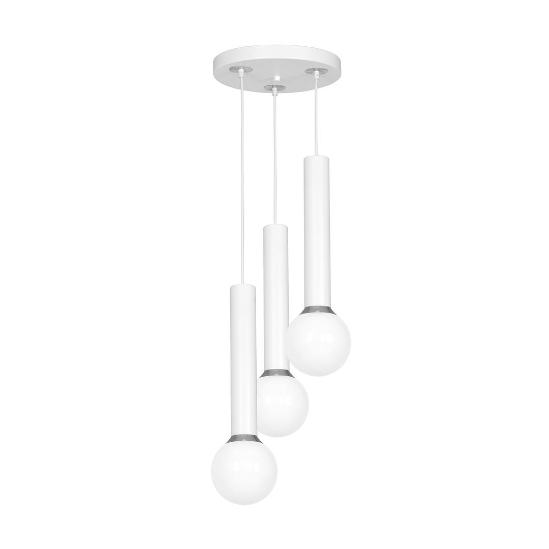 White Hanging Lamp Auris White 3x E14