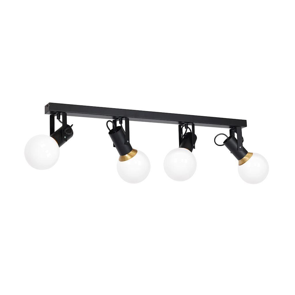 Black Auris Black 4x E14 Ceiling Lamp