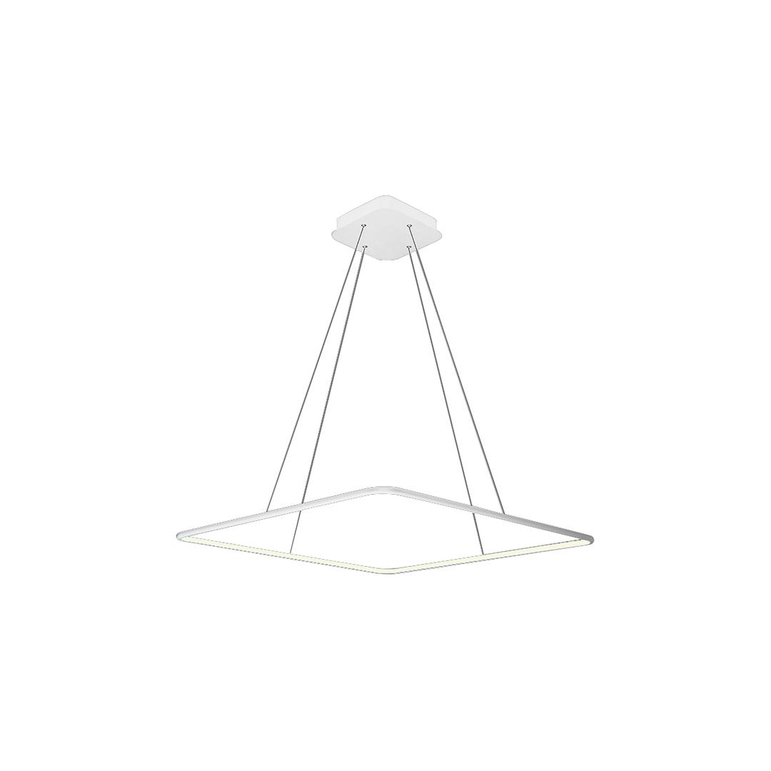 Nix White 25 W LED Pendant Lamp. Color: Neutral
