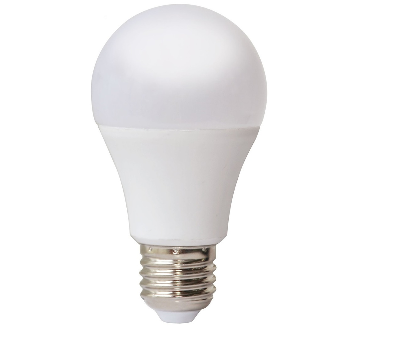 10 W E27 A60 Led Bulb Dimmable 100% / 50% / 25%. Color: Warm
