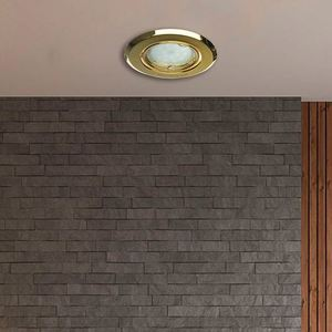 Chrome Eyelet Ceiling Adjustable Cast Motion small 4