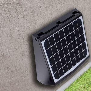 Black Solar Lamp Transformer 7 W 4000 K IP65 small 11