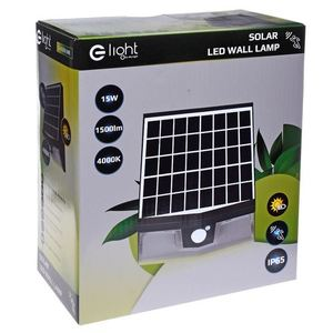 Black Solar Lamp Transformer 15 W 4000 K IP65 small 10