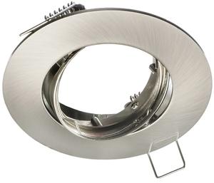 Chrome Ceiling Eye Set Cast Motion Mat + 1.5W Gu10 Bulb Socket small 1