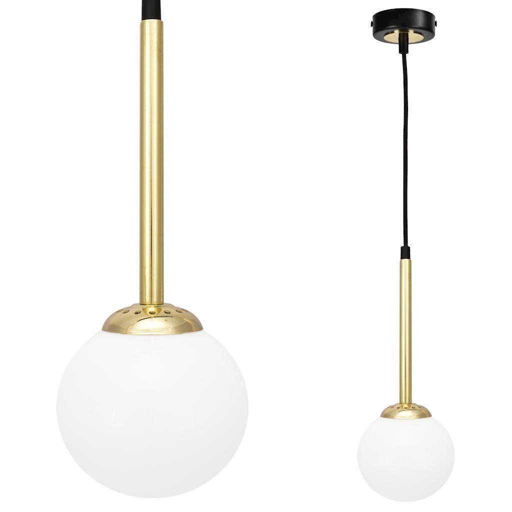 Black Parma Hanging Lamp 1x E14