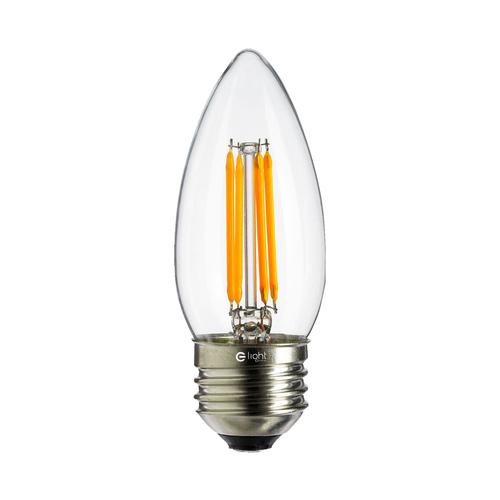 4 W C37 E27 4000K LED Filament Bulb