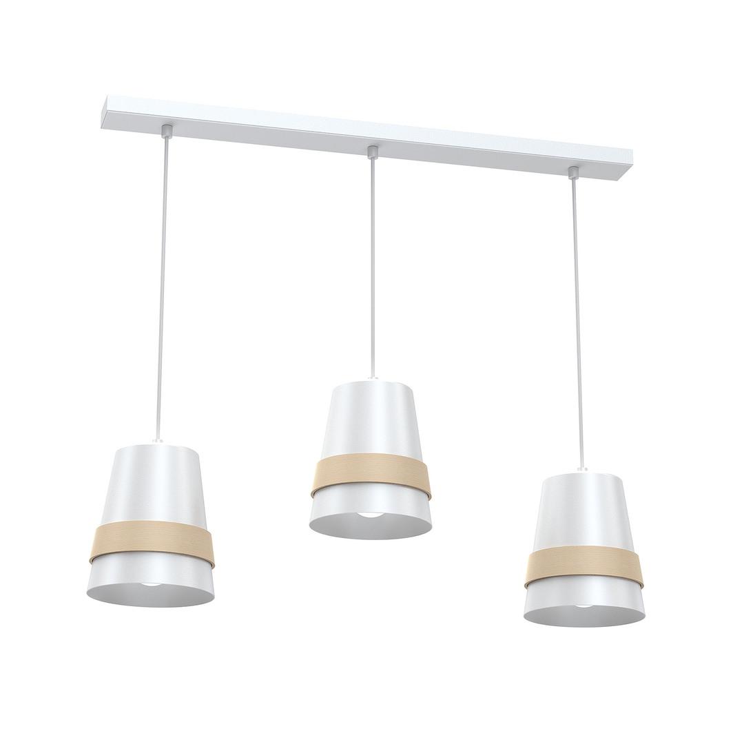 White Venezia White Hanging Lamp 3x E27