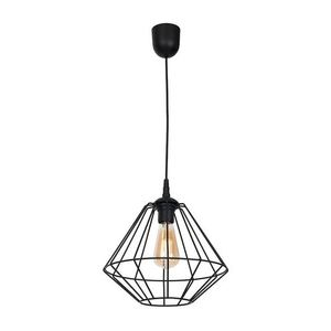 Black Hanging Lamp Colin Black 1x E27 small 0