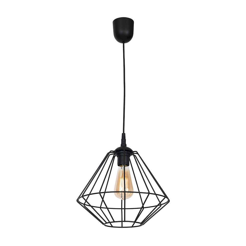 Black Hanging Lamp Colin Black 1x E27