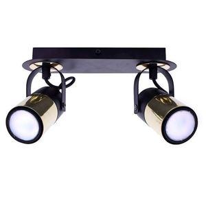Black Wilson Black 2x Gu10 Ceiling Lamp small 1
