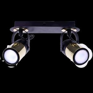 Black Wilson Black 2x Gu10 Ceiling Lamp small 7