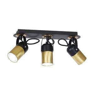 Black Wilson Black Ceiling Lamp 3x Gu10 small 0