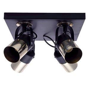 Black Wilson Black 4x Gu10 Ceiling Lamp small 1