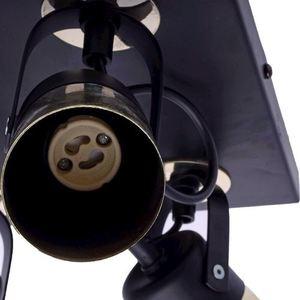 Black Wilson Black 4x Gu10 Ceiling Lamp small 3