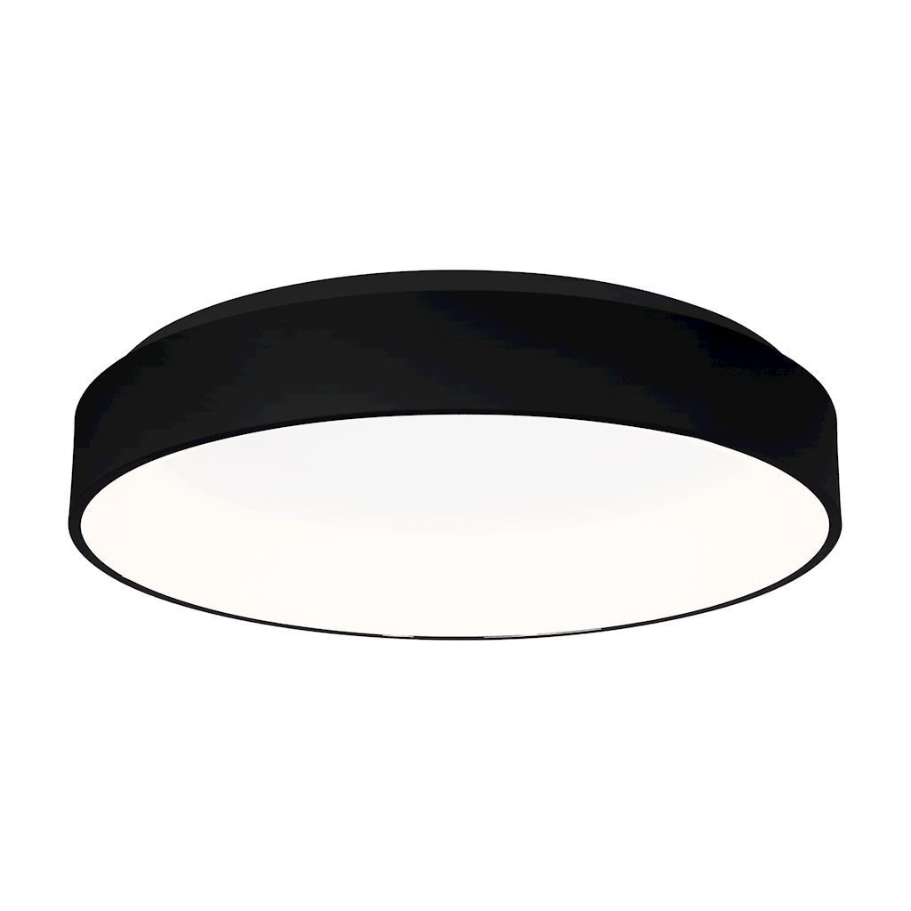 Ohio Black 32 W LED ceiling lamp
