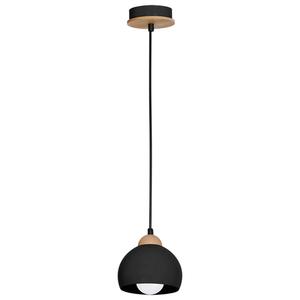 Black Hanging Lamp Dama Black 1x E27 small 1