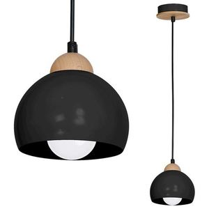 Black Hanging Lamp Dama Black 1x E27 small 0