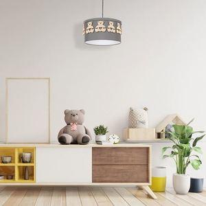 Gray Bear Hanging Lamp 1x E27 small 1